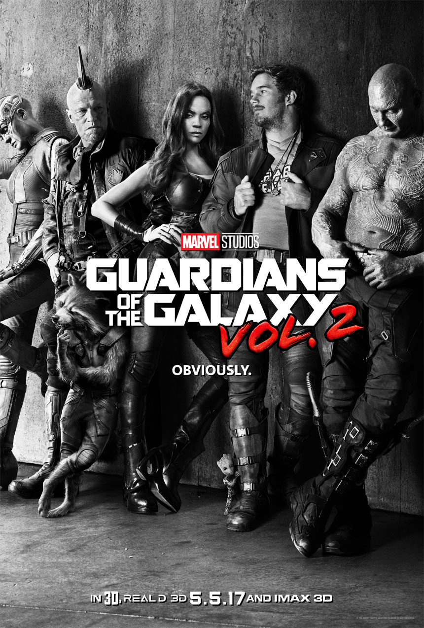 Guardians of the Galaxy Vol. 2 Large Poster
