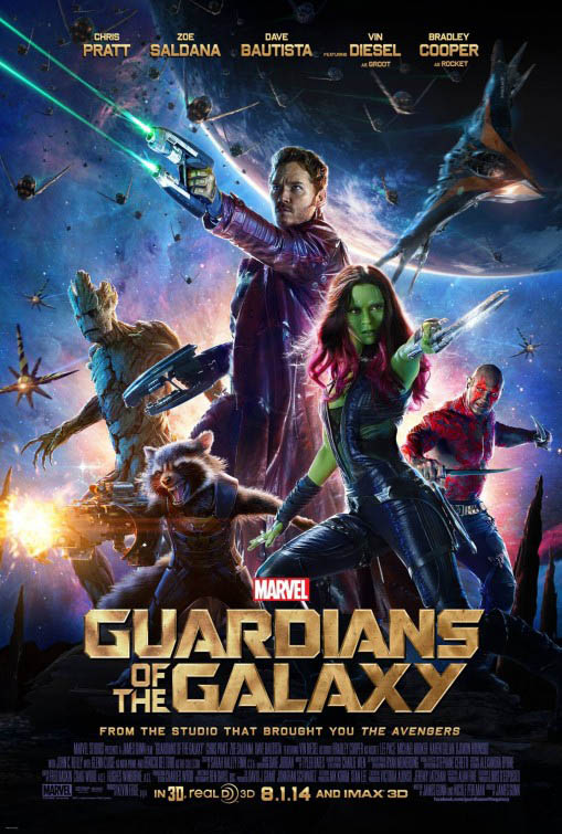 Guardians of the Galaxy Large Poster