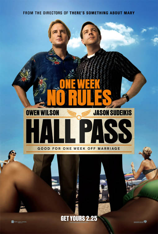 Hall Pass Large Poster