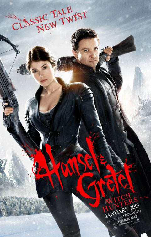 Hansel & Gretel: Witch Hunters Large Poster
