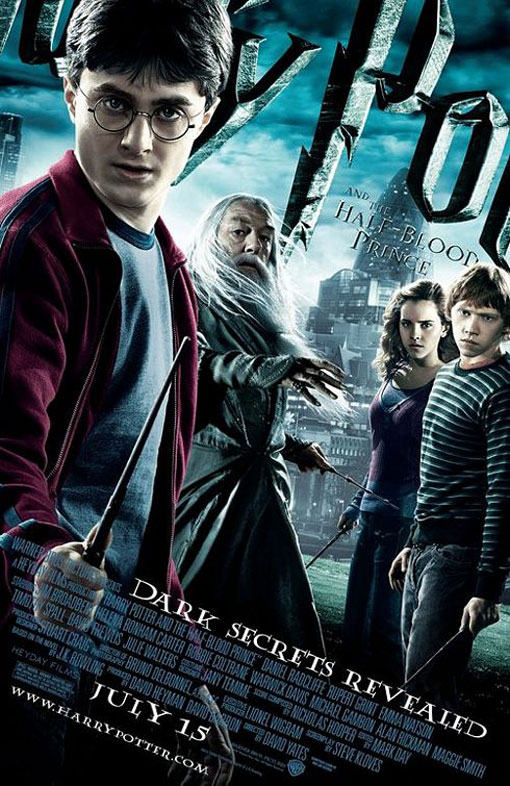 Harry Potter and the Half-Blood Prince official Movie Poster