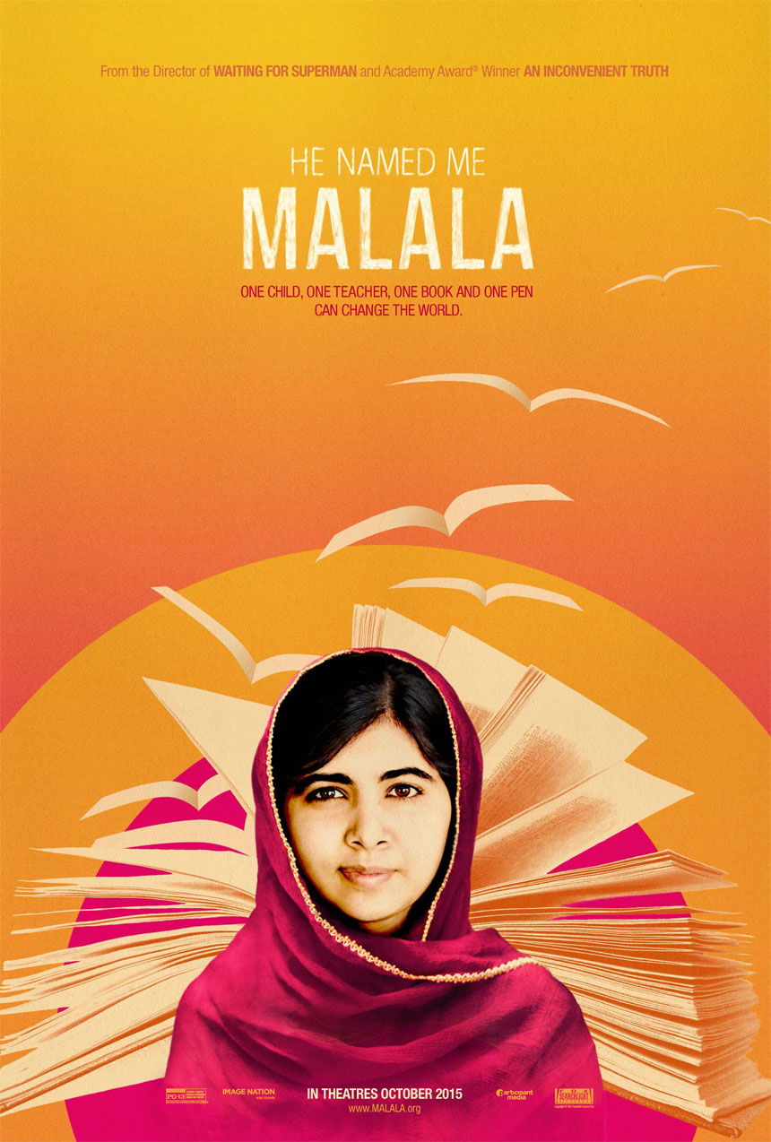 He Named Me Malala Large Poster
