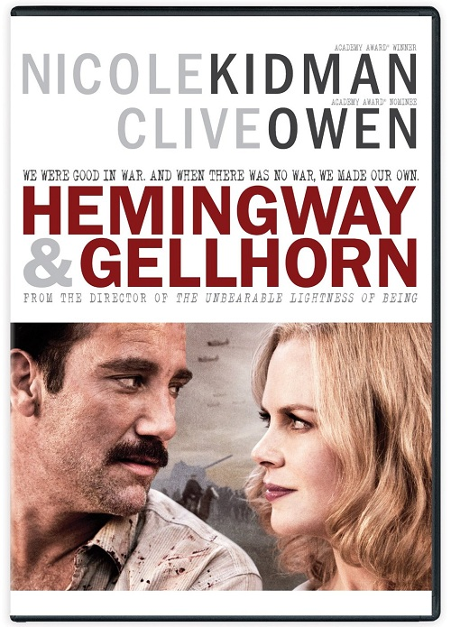 Hemingway & Gellhorn Large Poster