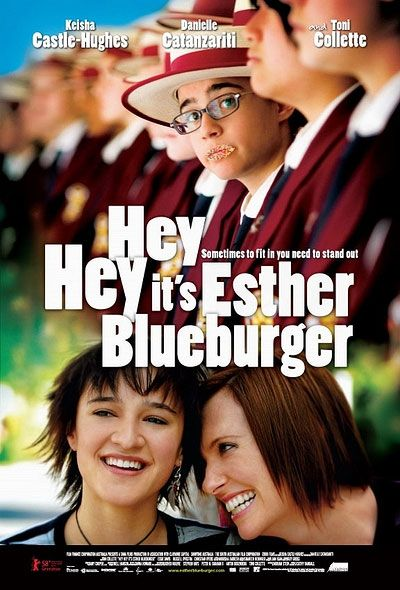 Hey Hey It's Esther Blueburger Large Poster