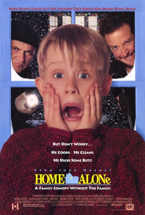 Home Alone Large Poster