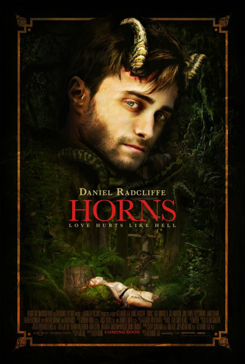 Horns Large Poster