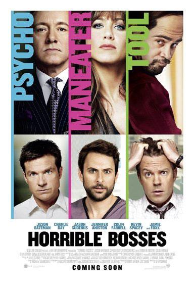 Horrible Bosses Large Poster