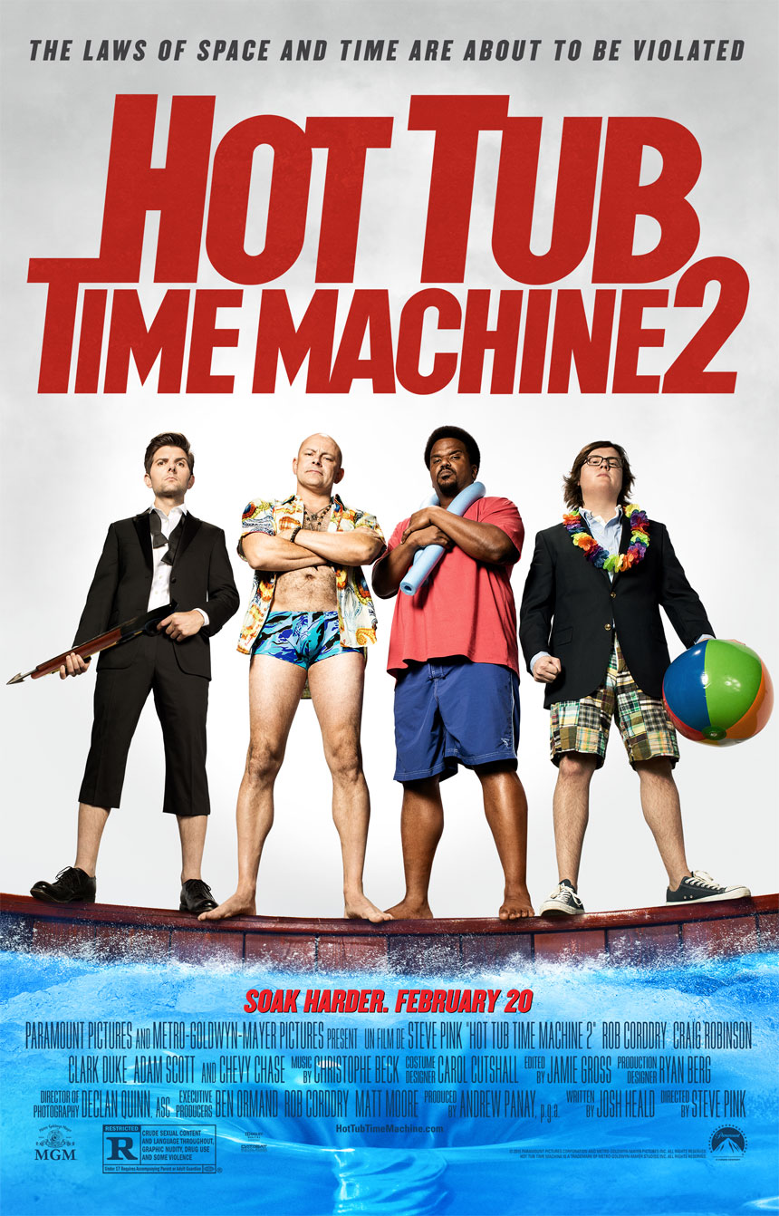 Hot Tub Time Machine 2 Large Poster