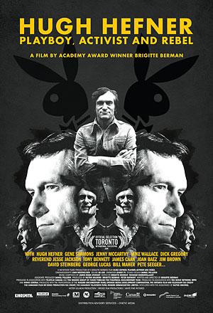 Hugh Hefner: Playboy, Activist and Rebel Large Poster