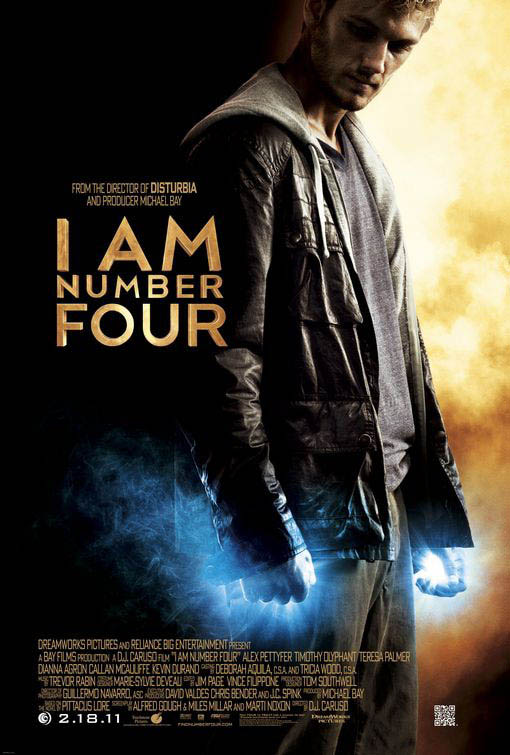 I Am Number Four official Movie Poster