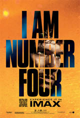 I Am Number Four: The IMAX Experience Movie Poster