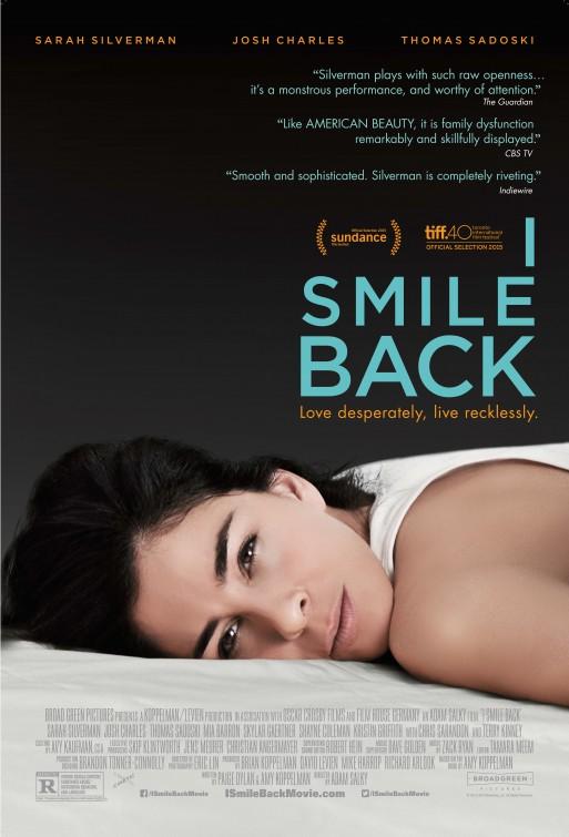 I Smile Back Large Poster