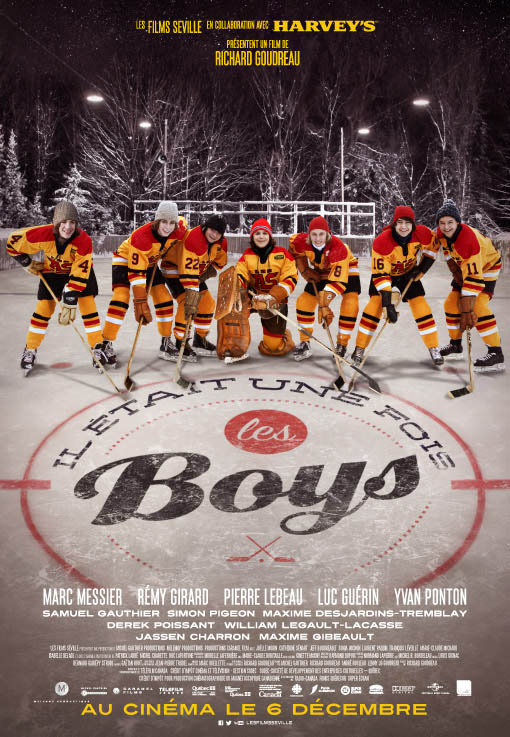 When We Were Boys Large Poster