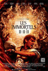 Les immortels 3D Movie Poster
