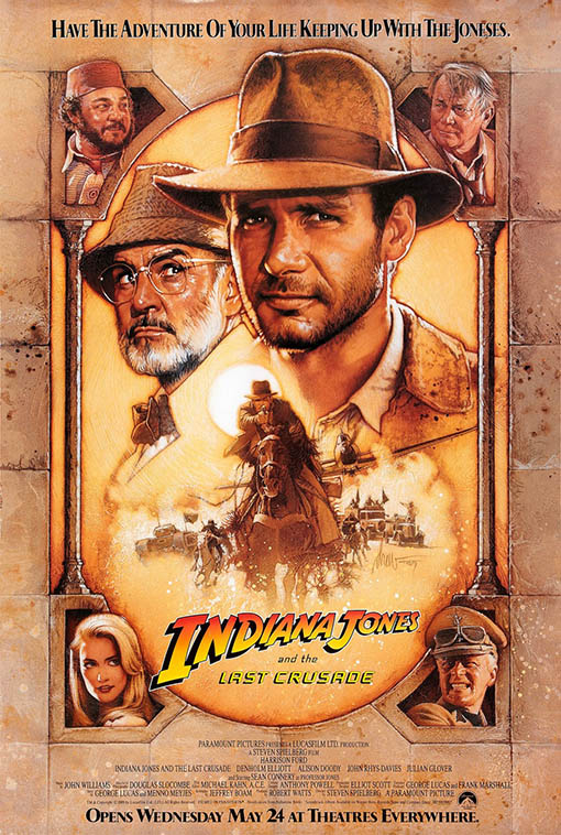 Indiana Jones and the Last Crusade Large Poster
