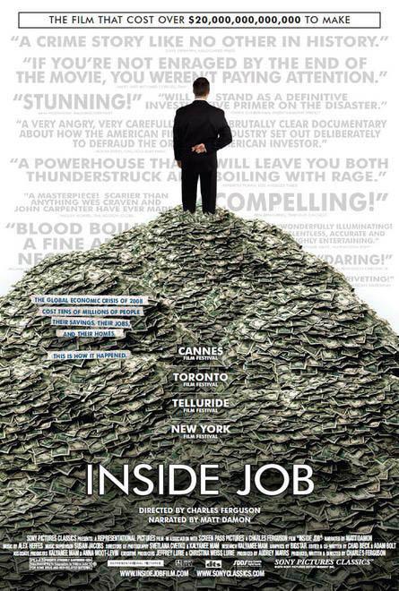 Inside Job Large Poster