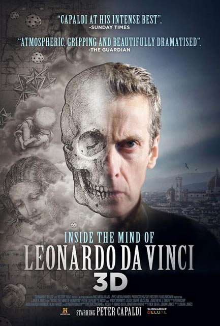 Inside the Mind of Leonardo in 3D Large Poster