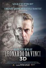 Inside the Mind of Leonardo in 3D Movie Poster
