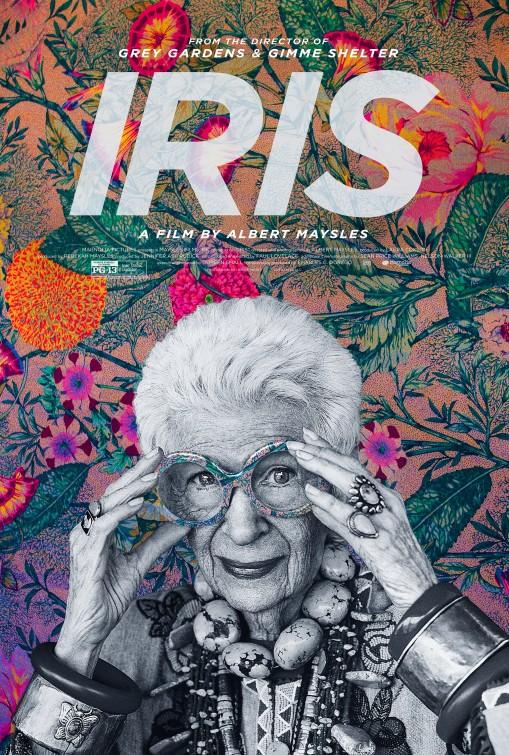 Iris Large Poster