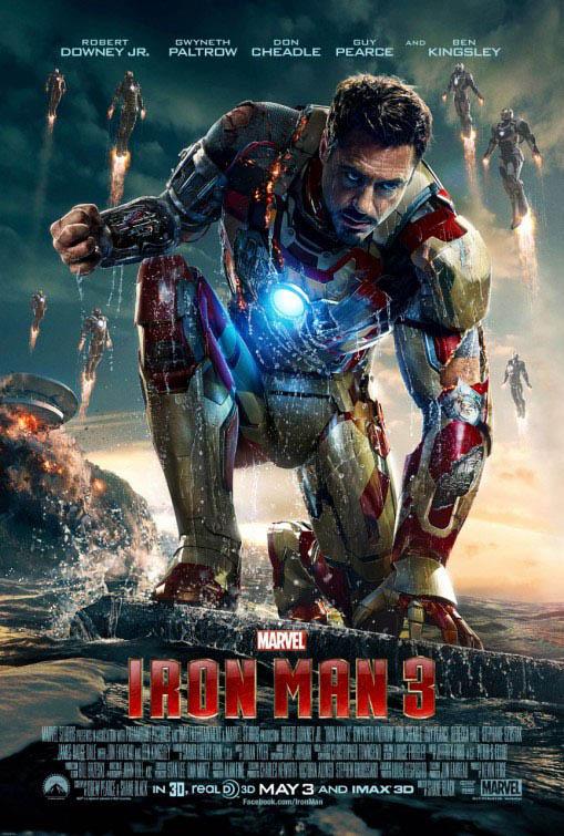 Iron Man 3 Large Poster