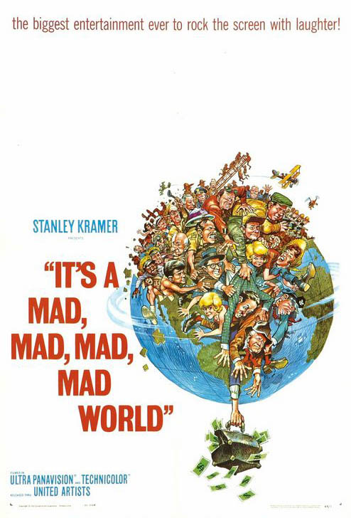 It's a Mad, Mad, Mad, Mad World Large Poster