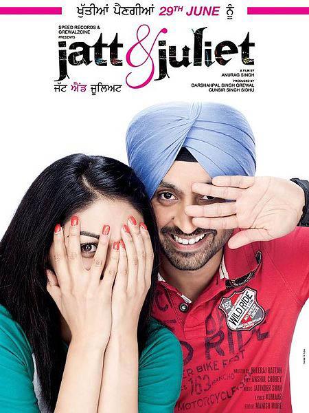 Jatt & Juliet Large Poster