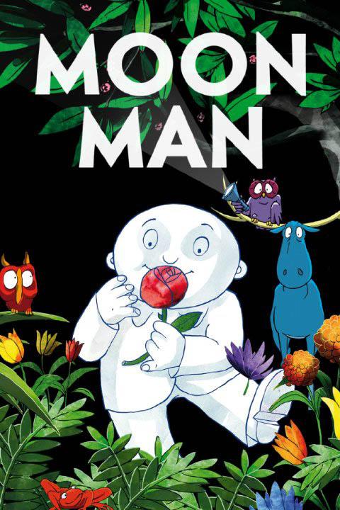 Moon Man Large Poster