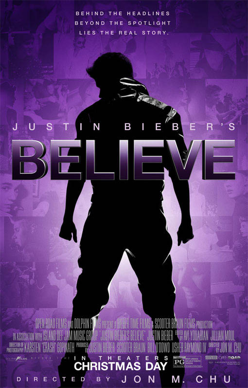 Justin Bieber's Believe Large Poster