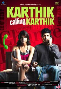 Karthik Calling Karthik Large Poster