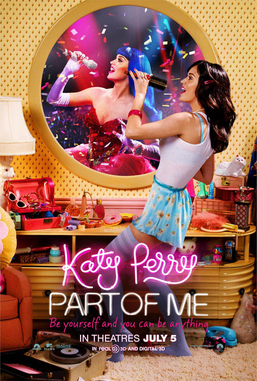 Katy Perry: Part of Me 3D official Movie Poster