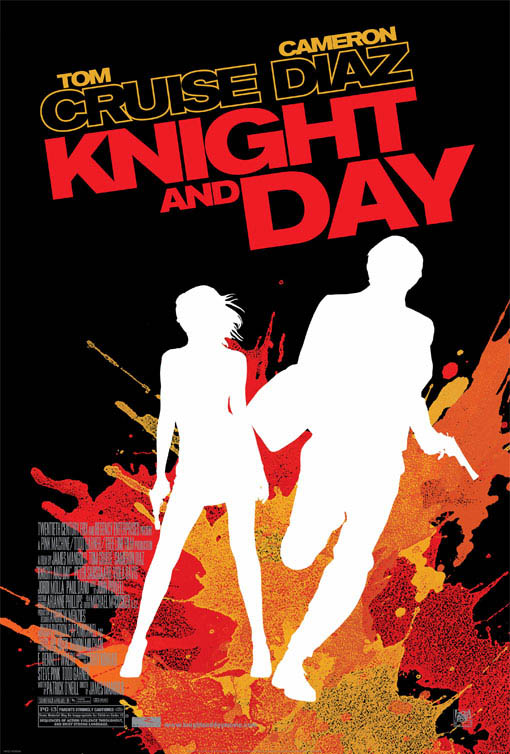 Knight and Day Large Poster