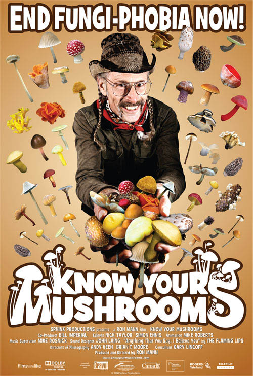 Know Your Mushrooms Large Poster