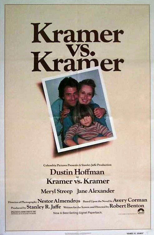 Kramer vs. Kramer Large Poster