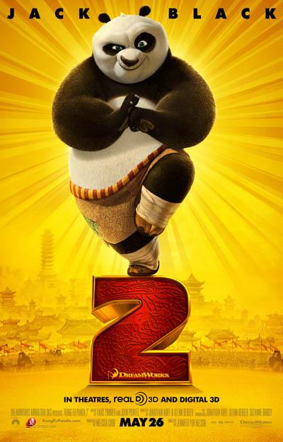 Kung Fu Panda 2 Large Poster