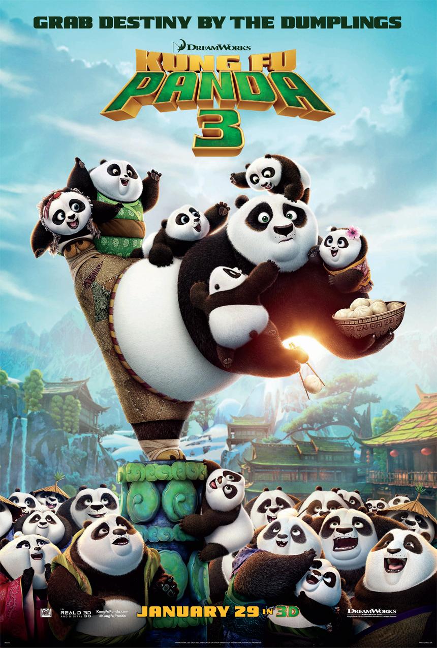 Kung Fu Panda 3 Large Poster