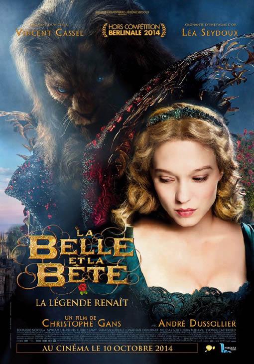 La belle et la bête Large Poster