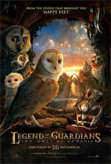 Legend of the Guardians: The Owls of Ga'Hoole - An IMAX 3D Experience Movie Poster