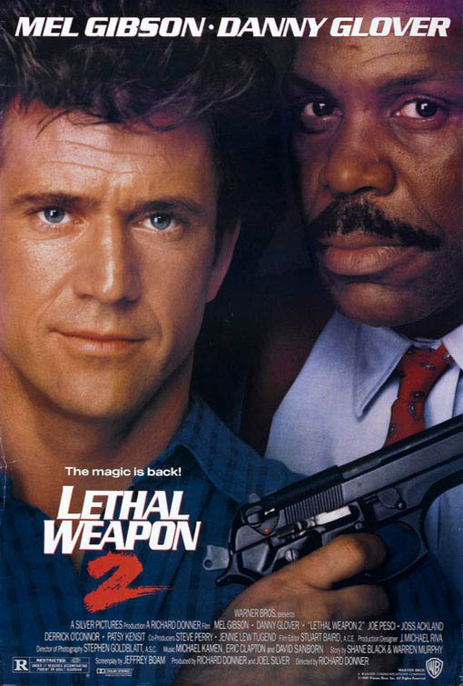 Lethal Weapon 2 Large Poster