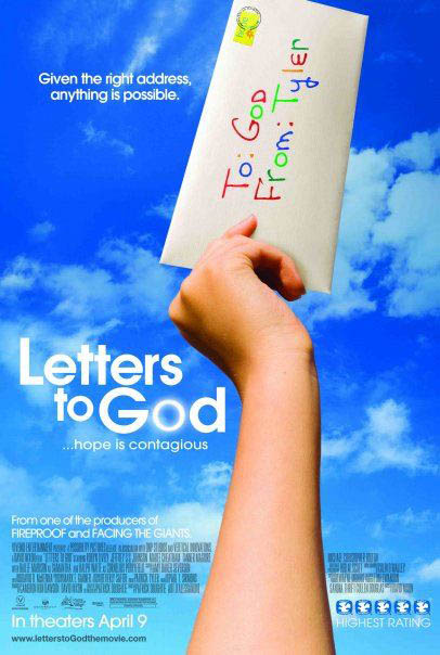 Letters to God Large Poster