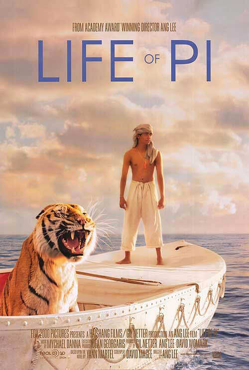 Life of Pi Large Poster