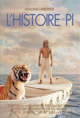 L'histoire de Pi Affiche de film
