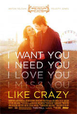 Like Crazy Movie Poster