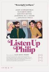 Listen Up Philip Movie Poster