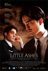 Little Ashes Movie Poster