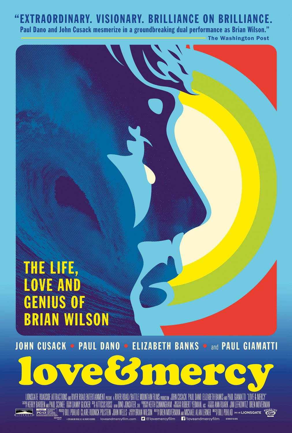 Love & Mercy Large Poster