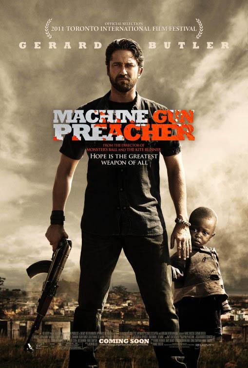Machine Gun Preacher Large Poster