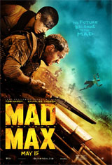 Mad Max: Fury Road 3D Movie Poster