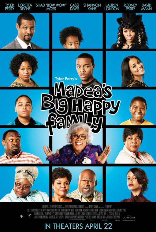 Tyler Perry's Madea's Big Happy Family Large Poster