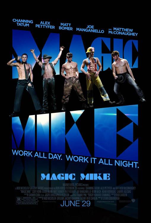 Magic Mike Large Poster