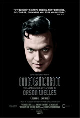 Magician: The Astonishing Life & Work of Orson Welles Movie Poster